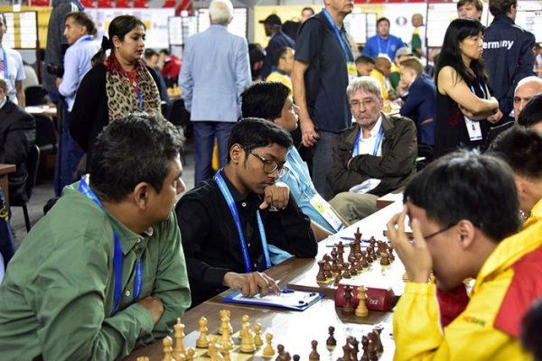 Đội tuyển cờ vua Việt Nam bất bại tại giải Olympiad