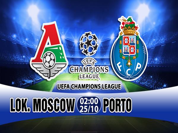 Nhận định Lokomotiv vs Porto, 02h00 ngày 25/10: Cúp C1 Châu Âu