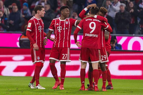 Bayern sẽ giành chiến thắng trên sân khách