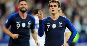 Pháp thắng Đức 2 – 1 nhờ cú đúp của Griezmann tại Nations League