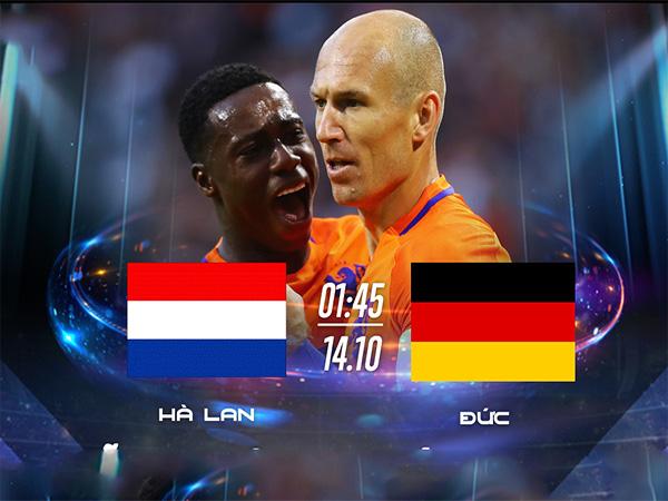 Đức thua Hà Lan 0 - 3