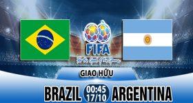 Nhận định trận giao hữu Brazil vs Argentina 17/10 : Siêu kinh điển Nam Mỹ