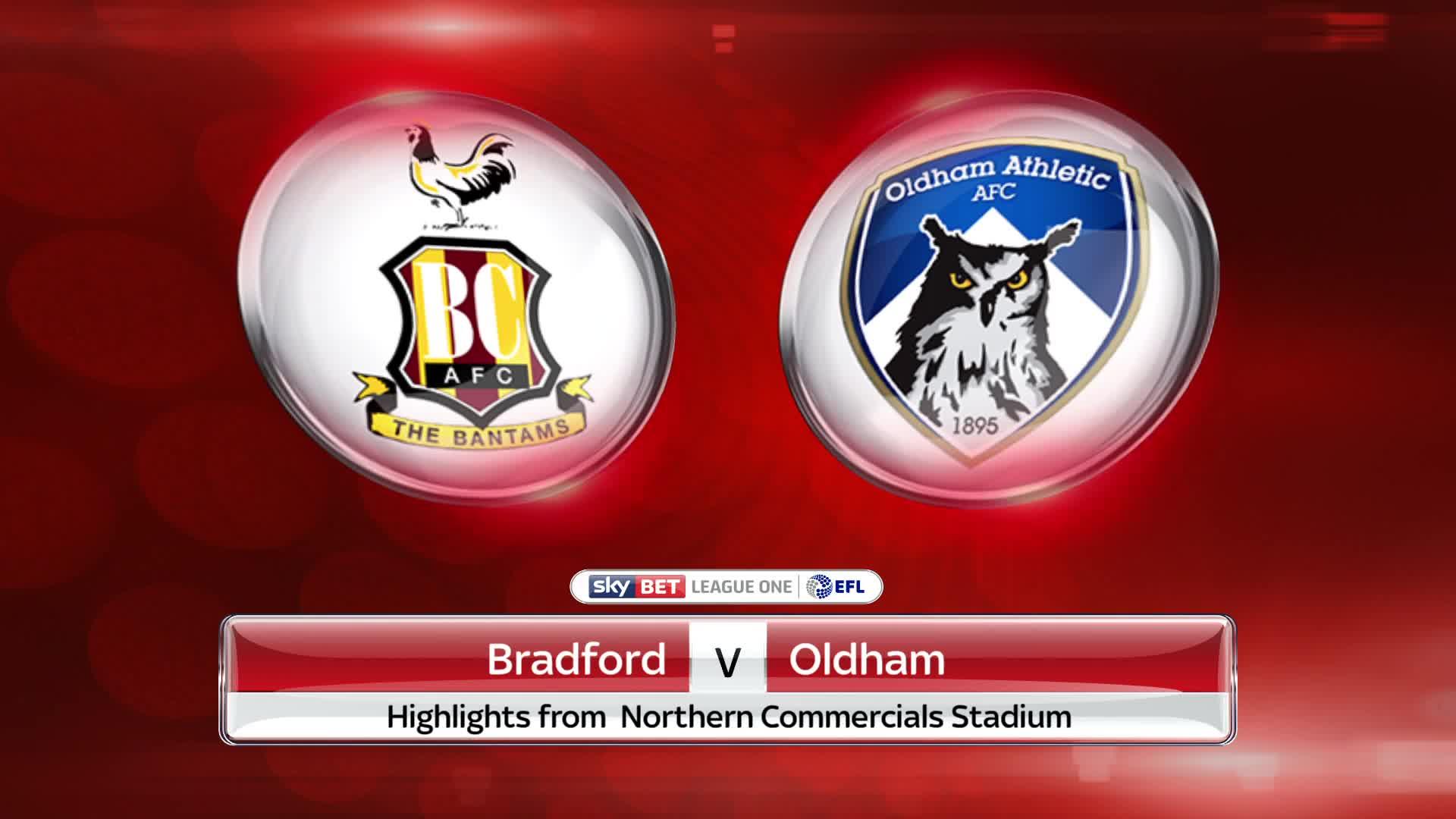 Nhận định Bradford City vs Oldham, 01h30 ngày 10/10: EFL Trophy