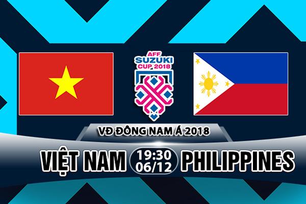 Nhận định Việt Nam vs Philippines, 19h30 ngày 06/12: Bán kết AFF Cup 2018