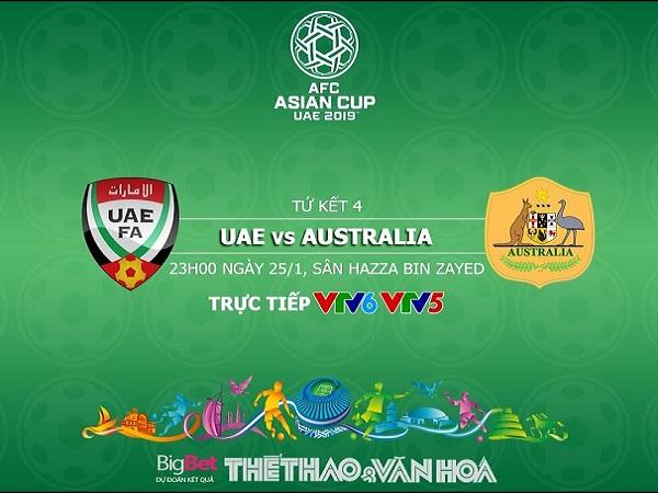 Nhận định UAE vs Australia, 23h00 ngày 25/01