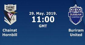 Dự đoán Chainat Hornbill vs Buriram United, 18h ngày 29/5