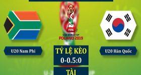 Nhận định U20 Nam Phi vs U20 Hàn Quốc, 1h30 ngày 29/05