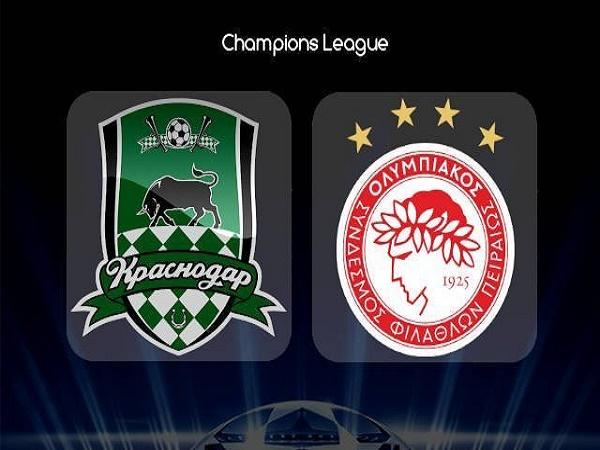 Nhận định kèo Krasnodar vs Olympiacos 2h00, 28/08 (Champions League)