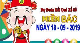 Soi cầu XSMB ngày 18/9/2019 – Soi cầu KQXS Bắc Ninh thứ 4 hôm nay