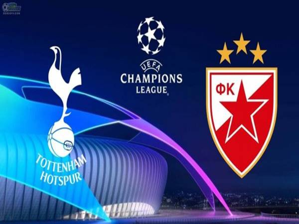Nhận định Tottenham vs Crvena Zvezda, 02h00 ngày 23/10