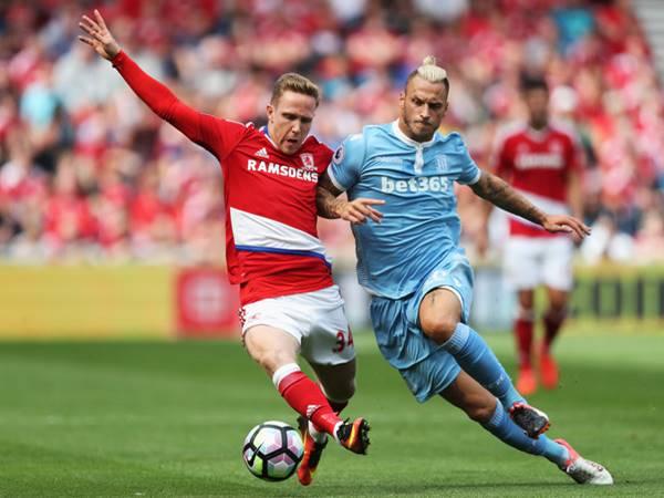 Nhận định bóng đá Middlesbrough vs Stoke City (2h45 ngày 21/12)
