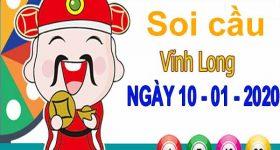 Soi cầu XSVL ngày 10/1/2020 – Soi cầu xổ số Vĩnh Long thứ 6