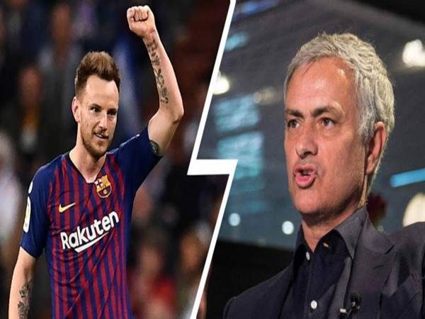 HLV Jose Mourinho muốn giải cứu Rakitic khỏi Barcelona