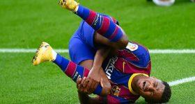 Bóng đá La Liga 11/11: Barcelona nhận tin sét đánh chấn thương Ansu Fati