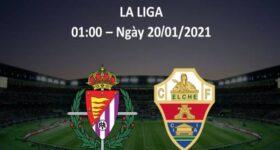 Nhận định bóng đá Elche vs Valladolid, 1h00 ngày 20/1
