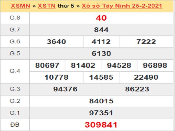 Soi cầu XSTN 4/3/2021, chốt số dự đoán mới nhất hôm nay