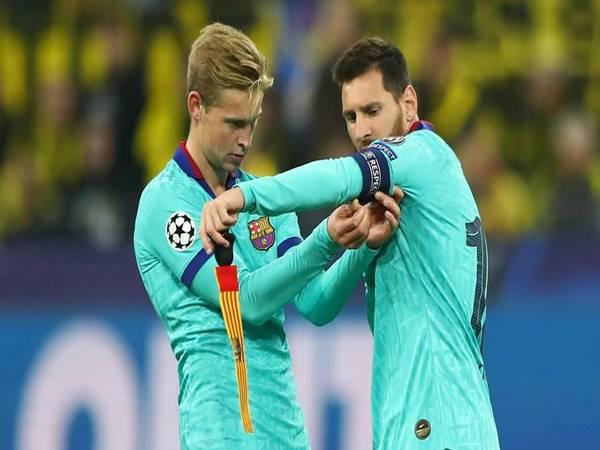 Tin bóng đá chiều 1/6: De Jong tin Messi vẫn đang ở đẳng cấp cao nhất