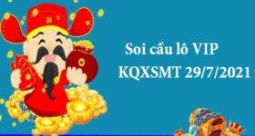 Soi cầu lô VIP KQXSMT 29/7/2021 thứ 5