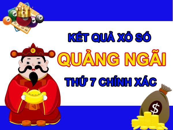 Soi cầu XSQNG 17/7/2021 chốt bạch thủ lô Quảng Ngãi