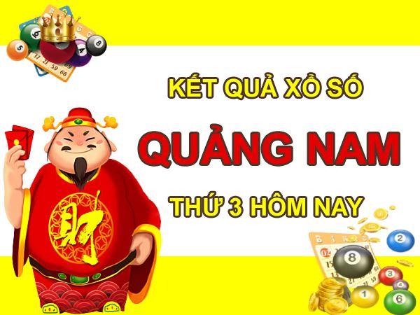 Soi cầu SXQNM 14/9/2021 thứ 3 chốt số đẹp Quảng Nam