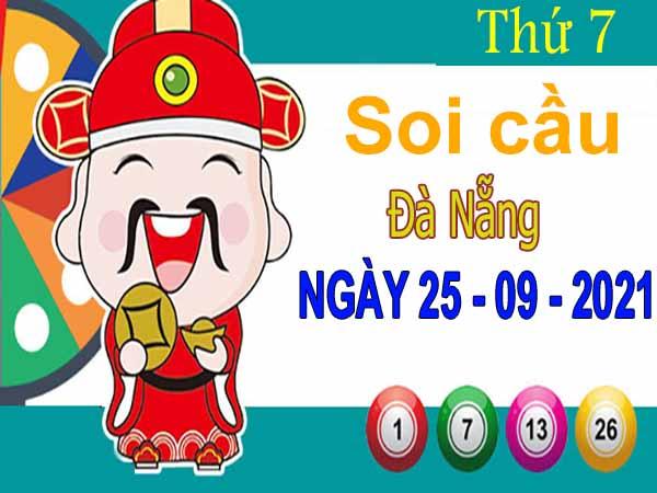 Soi cầu XSDNG ngày 25/9/2021 đài Đà Nẵng thứ 7 hôm nay chính xác nhất