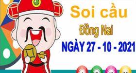 Soi cầu XSDN ngày 27/10/2021 – Soi cầu KQXS Đồng Nai thứ 4