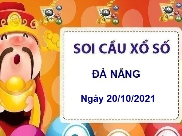 Mở bát soi cầu xổ số Đà Nẵng ngày 20/10/2021 hôm nay thứ 4