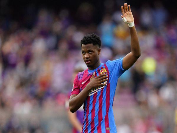 Tin bóng đá chiều 19/10: Barca khó đáp ứng yêu cầu của Ansu Fati